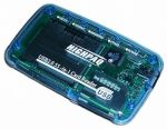63 in 1 Card Reader HighPaq CR-Q005 Compact  ext  Blue