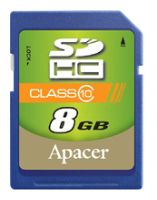 Apacer SDHC Class 10 8GB