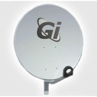 Спутниковая антена диаметр 80 см GI + кронштейн