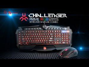 Keyboard&Mouse Tt eSPORTS Challenger Prime RGB Combo (Black) ― 1962.ru
