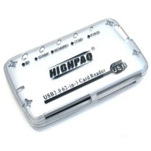 63 in 1 Card Reader HighPaq CR-Q005 Compact  ext  Silver ― 1962.ru