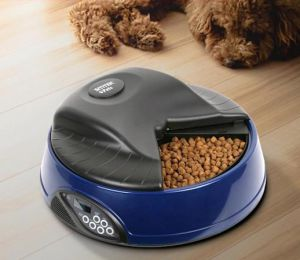 Автокормушка для кошек и собак SITITEK Pets Ice Mini (Dark blue) с ЖК дисплеем ― 1962.ru